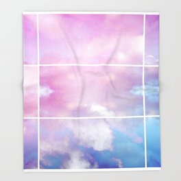 Pastel Sky II Throw Blanket