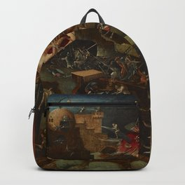CHRIST IN LIMBO - HIERONYMUS BOSCH  Backpack