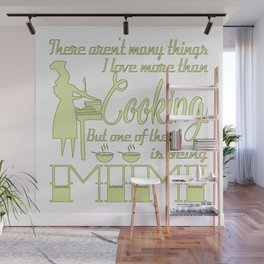Cooking Mimi Wall Mural