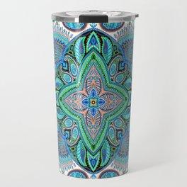Boho Paisley Floral Var. 17 Travel Mug