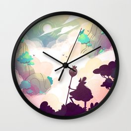 Landscape 1 Wall Clock