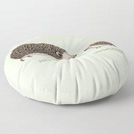 Hedgehog Hedgesprog Floor Pillow