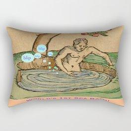 Worlds First Spa! Rectangular Pillow