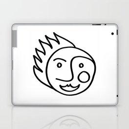 Smiling Face Laptop & iPad Skin