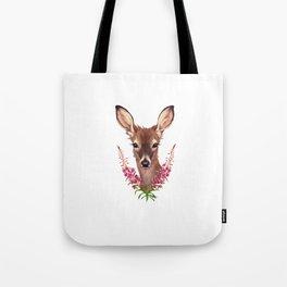 Fireweed Deer Tote Bag