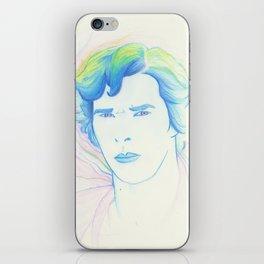 Rainbow Sherlock iPhone Skin
