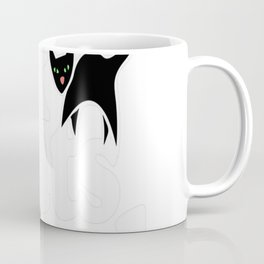 Black cats rule Coffee Mug
