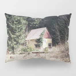travelling east into the past Pillow Sham