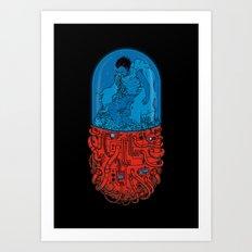 Capsule 41 Art Print