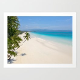 Peaceful and Tropical Art Print