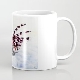 Lion fish and his captain. Coffee Mug