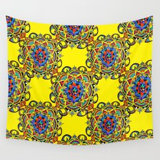 Mandala Bloom Wall Tapestry