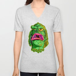 Thing from the Kiddy Pool Unisex V-Neck