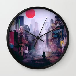 Strange Mornings Wall Clock