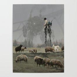 1920 - shepherd Poster