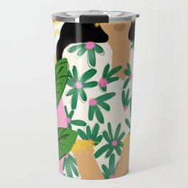 Floral fever Travel Mug
