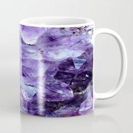Amethyst Crystals Coffee Mug