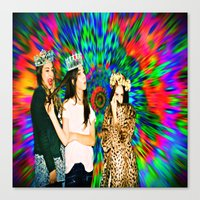 haim Canvas Prints featuring HAIM by ♡♡Transparent Mess♡♡
