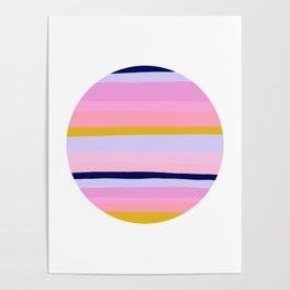 Ojai, california sunset Poster