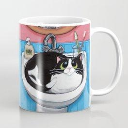 Sink Cat Coffee Mug