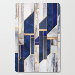 Blue Winter Sky Cutting Board