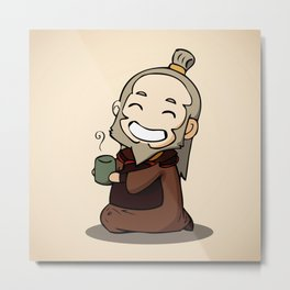 Uncle Iroh Metal Print