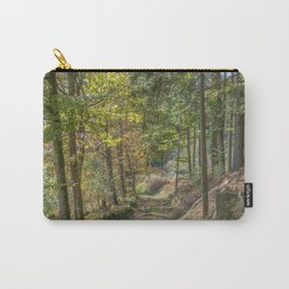 French forest road Carry-All Pouch