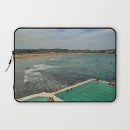 Bondi Beach Icebergs Old Laptop Sleeve