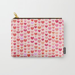 Heart for Saint Valentines Day Carry-All Pouch