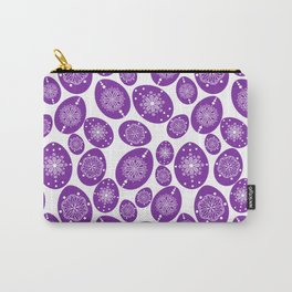 Ultra violet eggs Carry-All Pouch