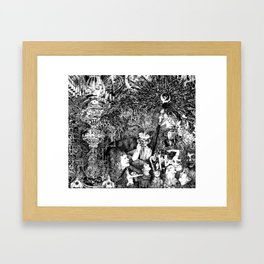 In the Cathedral Framed Art Print