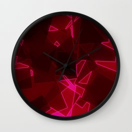 Electric Sparks Wall Clock
