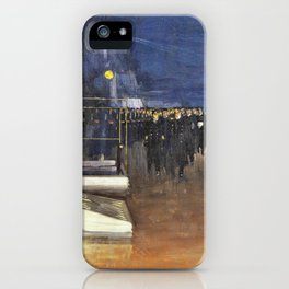 The Arrival of the German Delegates - hms Queen Elizabeth iPhone Case