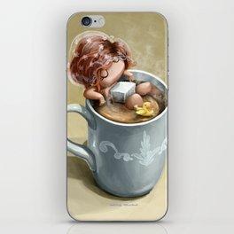 I love coffee iPhone Skin