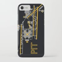 steelers iPhone & iPod Cases featuring Pittsburgh (PIT) - Team Colors by Kyle Rodgers