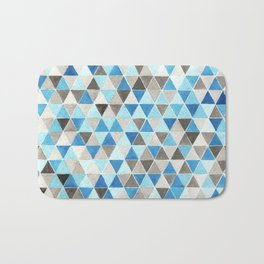 #54. CHRIS - Triangles Bath Mat