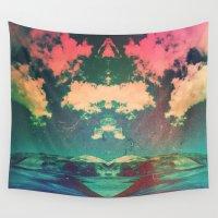 atlas Wall Tapestries featuring Atlas by Daniel Montero