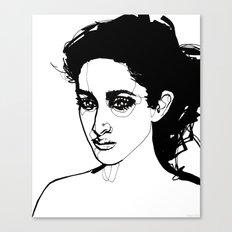 Past Tense Canvas Print
