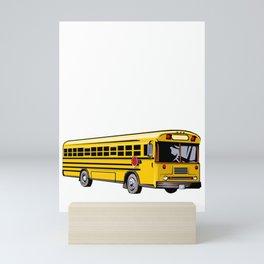 My Dream Job Would Be Driving To Drive the Karma Bus T Shirt Mini Art Print
