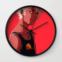 homestuck Wall Clocks featuring di-stri by dacadaca