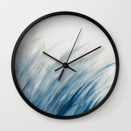 Blue Grass III Wall Clock