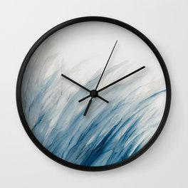 Blue Grass III Wall Clock