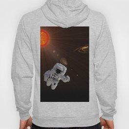 Astronaut And Sun Hoody