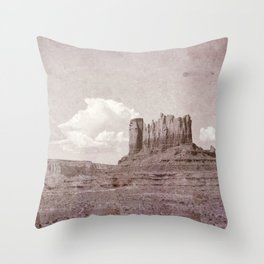 Old West Monument Valley Throw Pillow