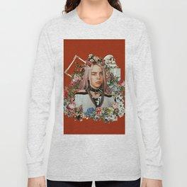 Billie Eilish Graphic Artwork Long Sleeve T-shirt
