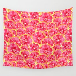 Tropical Citrus Wall Tapestry