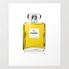 Perfume No 5 Art Print