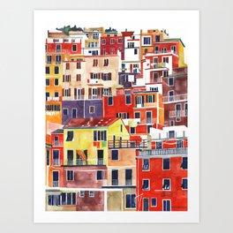 Cinque Terre vol 3 Art Print