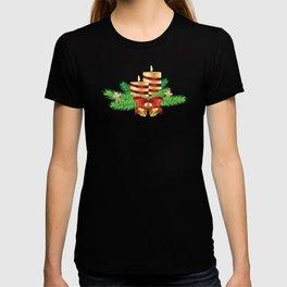 Decorative Christmas Candle T-shirt