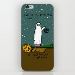 Ghosts At Parties iPhone Skin